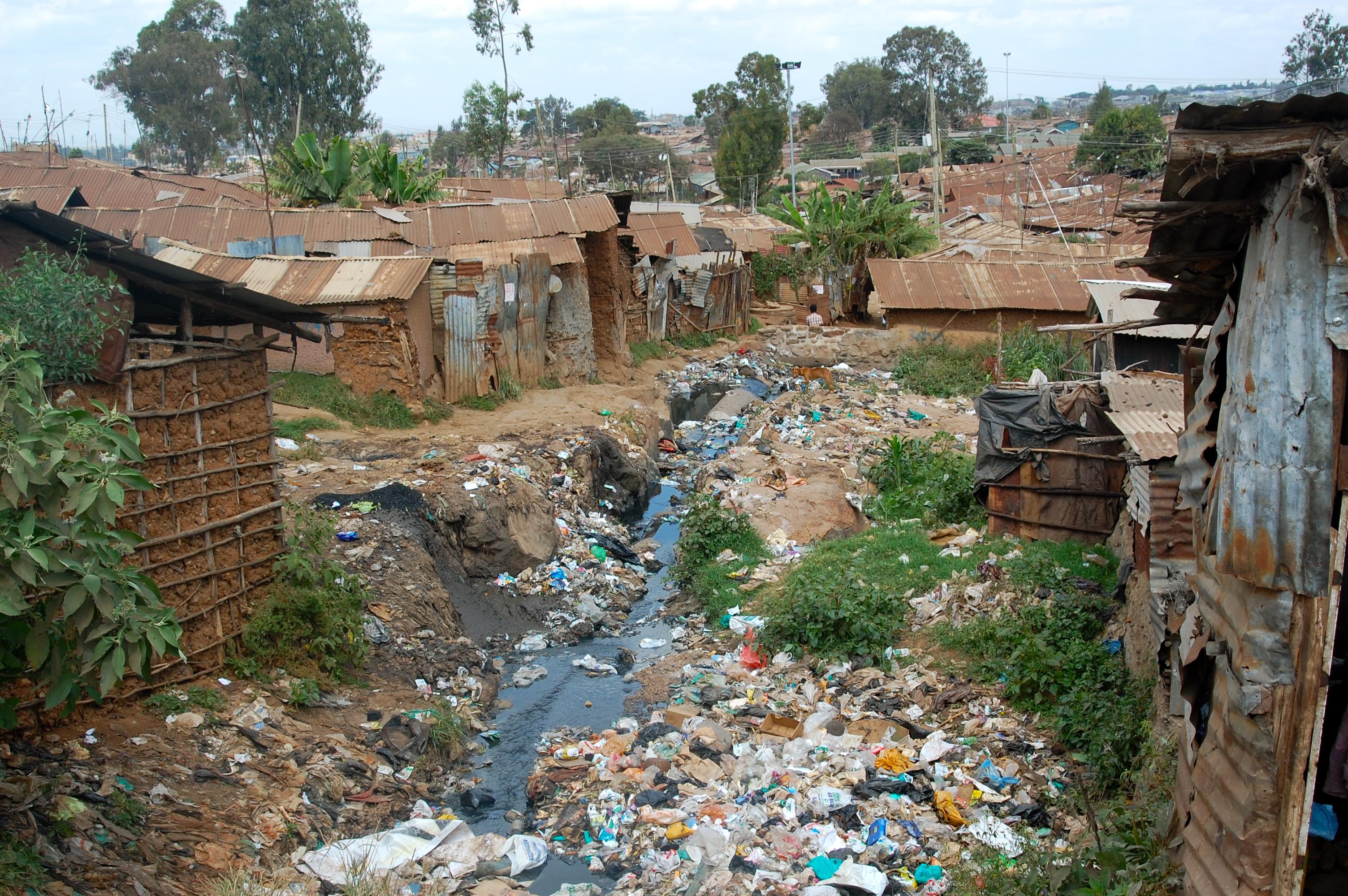 Welcome To Kibera Nairobi Brian Bell